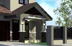 Ide desain untuk teras rumah minimalis 5