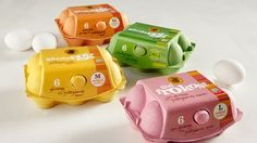 Empaque de huevos: Den Stolte Hane | El poder de las ideas