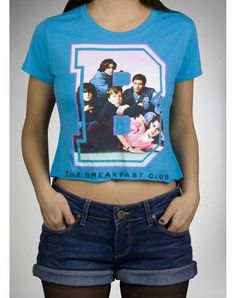 The Breakfast Club Champ Cropped Junior Tee
