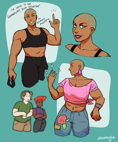 There's Nothing But the Storm, Vengeance, and Hope Female Character Design, Character Design Inspiration, Character Art, Character Concept, Adventure Zone Podcast, The Adventure Zone, Mcelroy Brothers, Dnd Characters, Drawing Reference