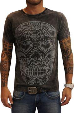 T-shirt Boundless Skull Maori