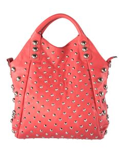 Studded hobo purse