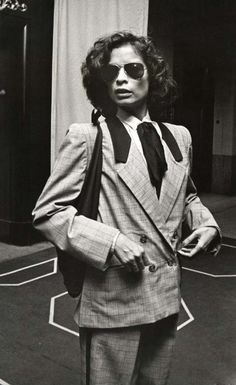 Bianca Jagger at Elaine's