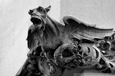 The Bowery Boys: New York City History: Little monsters overheads: gazing at New York gargoyles