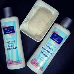 Prirodna kozmetika Bugarska ruža - Šampon protiv opadanja kose od probiotskog jogurta i ružinog ulja, Probiotski ultra mekani gel za pranje ...