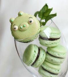 'Angry Birds' Pigs Dessert