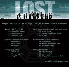 Lost | 43 Workouts That Allow You To Watch An Ungodly Amount Of Television