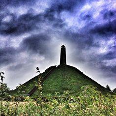 Pyramide van Austerlitz Bij Amersfoort op de Veluwe. Mooi uitzicht!