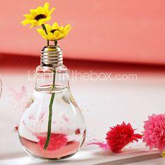 Lamp Bulb Shaped Terrarium Vase | LightInTheBox