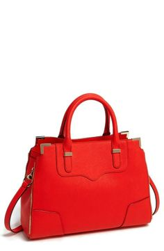 Gorgeous, red Rebecca Minkoff satchel.