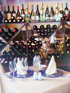 Take a vacation, take a romantic getaway, enjoy special dining venues. How about this wine cellar dinner. We'll take you there, 888-696-4202, Destination Weddings.travel & Wild Side Destinations, ask for PJ!