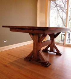 Custom Farm Tables With Rhode Island Industrial Iron Legs