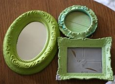I see so many vintage frames at thrift shops that I could do this with!