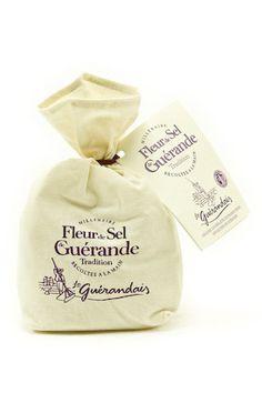Fleur de Sel de Guerande, l'or blanc des marais salants