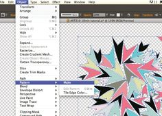 How to create patterns in Illustrator