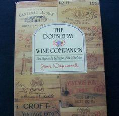 Doubleday 1983 Wine Companion HC DJ (31414-708) Vintage books, wine, food $3.00