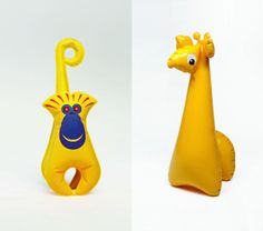 This Girl Lel: Libuse Niklova  Plastic fantastic! #kids #toys #midcentury #design #inflatable