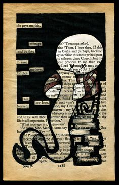 Blackout Poetry Art, Wonderful Bookarts, Blackout Poems, Black Out Poetry Lesson, Artwork Journaling Blackout Poetry, Found Poetry, Poetry Unit, Poetry Month, Book Page Art, Altered Book Art, Middle School Art, Art Plastique, Book Crafts