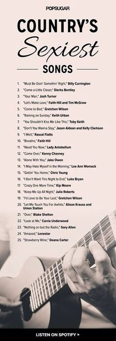 Country's sexiest songs