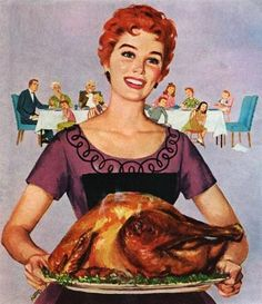 Turkey's ready! #vintage #Thanksgiving #Christmas #homemaker