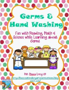 My Aunt has a great unit on Handwashing and Germs... for all you Early Childhood Ed majors, you should definitely check this out!!