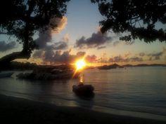 St John, USVI - Sunset