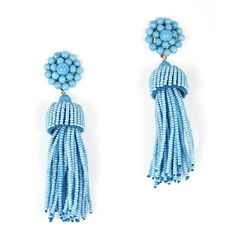 Tassel earrings in my favorite turquoise #tuckernucking