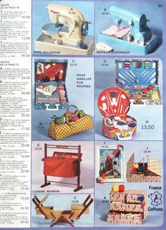catalogue galeries lafayette 1969 - Page 6 60s Toys, Classic Toys, Our Baby, Vintage Dolls, France, Have Fun, The Past, Presents, Miniatures