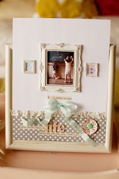 gorgeous simple layout from becky novacek