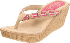 Sbicca Women's Cora Wedge Sandal
