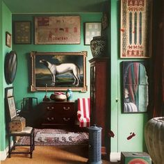 Photo by Christopher Simon Sykes for the The World of Interiors, May, 1991 Decor, World Of Interiors, Interior, Decor Design, Best Interior Paint, House Interior, Trending Decor, Interior Design, Vintage Interiors
