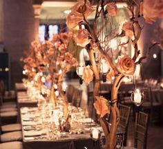 Flores desidratadas decoram o casamento. (Foto: Divulgação)