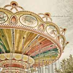 Carnival Time Merry Go Round by TheCamerasEye on Etsy, $20.00