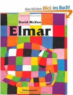 Elmar / David McKee. [Aus dem Engl. von Hans Georg Lenzen]   ab 4   Giesing Bilderbücher für die Kleinsten b MAC