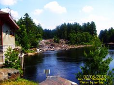 The Muskoka River at Wilson Falls in Bracebridge Ontario, River, Places, Pictures, Outdoor, Beautiful, Photos, Outdoors, Outdoor Games