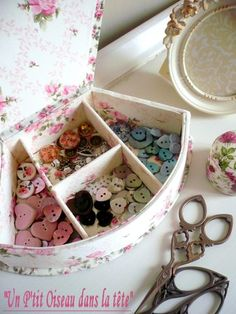 Button box inside