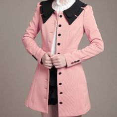 coat dresses for women | New Vintage Retro Women's Jacket Trench Coat Outerwear Dress Slim ...