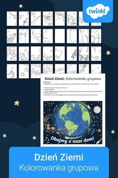 Kolorowanka grupowa, dzięki której stworzycie imponujący plakat na nadchodzący Dzień Ziemi (22 kwietnia). 🌎 #dzieńziemi #dzienziemi #dzieńziemiplakat #dzieńziemipracaplastyczna #dzieńziemiprzedszkole #twinklpolska #kolorowankagrupowa #pracaplastyczna #dzienziemiplakat #dzienziemipracaplastyczna #dzieńziemiozdoby #dzieńziemidekoracje #szablon Poster