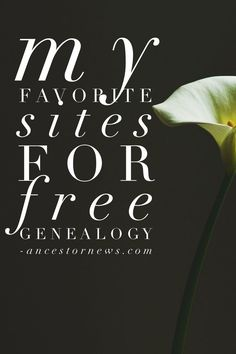 If you don't think free genealogy exists, read my article to discover my absolute favorite (and daily go-to) free genealogy sites.