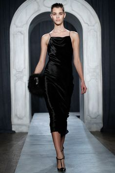 Nice new neckline in the classically continual slip dress ay Jason wu.  Jason Wu Fall 2014 Ready-to-Wear Collection Slideshow on Style.com
