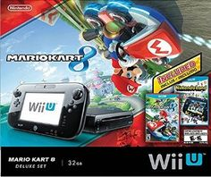 Amazon.com: Wii U Exclusive Mario Kart 8 & Nintendoland 32GB Deluxe bundle: Video Games
