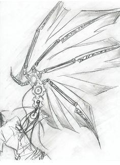 clockwork wings by bananaspazz.deviantart.com on @DeviantArt