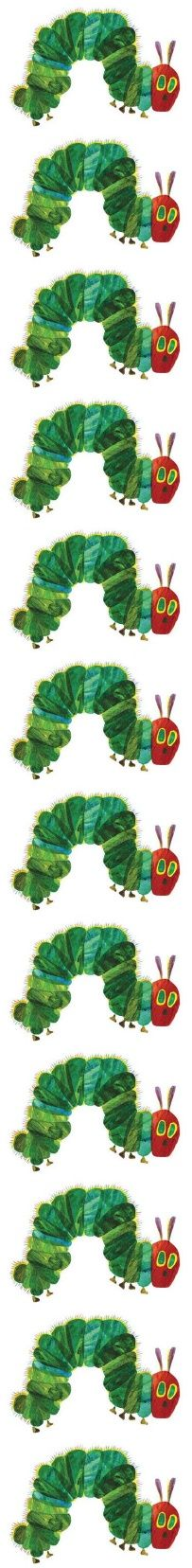 Very hungry caterpillar clip art