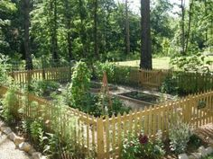 French+Potager+Garden | SassyFras Cottage: The Potager Experience