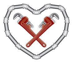 Perfekt Happy Valentineu0027s Day Plumbing Love