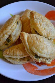 Chicken Poblano Cream Cheese Empanadas