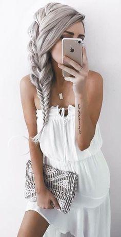 Beautiful Hair Designs for Girls + Women's - Fashion Insider Pretty Hairstyles, Girl Hairstyles, Unique Braided Hairstyles, Hair Designs For Girls, Unique Braids, Pinterest Hair, Fall Hair, Hair Dos, Gorgeous Hair