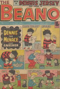 THE BEANO a classic comic and a bargain at 10p!
