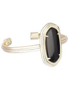 Graham Bracelet in Black, Kendra Scott