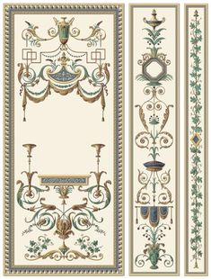 THORNHILL : TH-100 - Traditional wallpaper by Paul Montgomery Studio   ArchiExpo